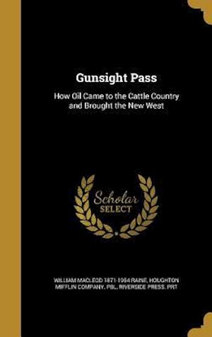 Gunsight Pass af William MacLeod 1871-1954 Raine