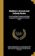 Hadden's Journal and Orderly Books af Horatio 1836-1904 Rogers