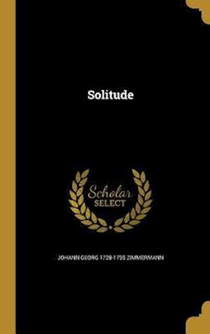 Solitude af Johann Georg 1728-1795 Zimmermann