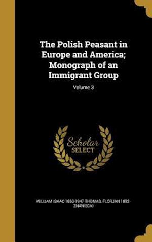 The Polish Peasant in Europe and America; Monograph of an Immigrant Group; Volume 3 af William Isaac 1863-1947 Thomas, Florjan 1882- Znaniecki