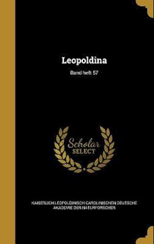Bog, hardback Leopoldina; Band Heft 57