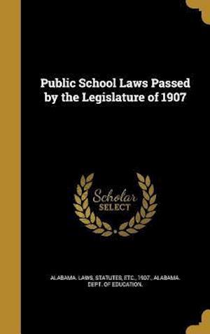 Bog, hardback Public School Laws Passed by the Legislature of 1907