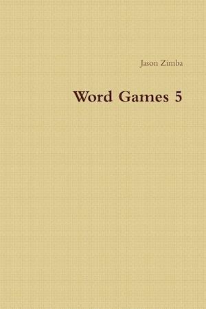 Bog, paperback Word Games 5 af Jason Zimba