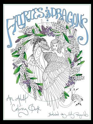 Bog, paperback Fairies and Dragons af Holly Reynolds