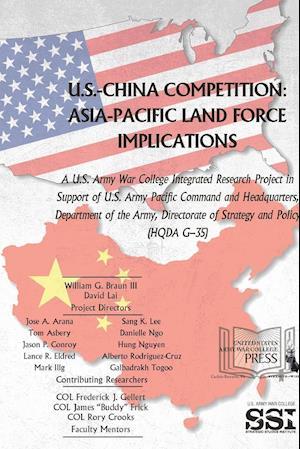 Bog, paperback U.S.-China Competition af U. S. Army War College, Strategic Studies Institute (SSI)