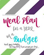Meal Plan for a Year on a Budget