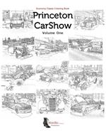 Princeton Carshow Classic Cars Coloring Book