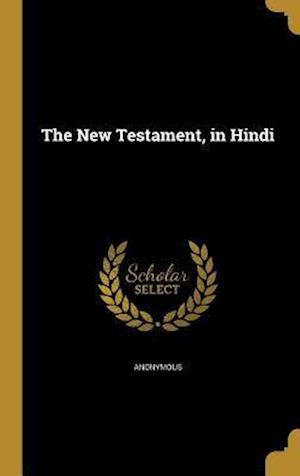 Bog, hardback The New Testament, in Hindi