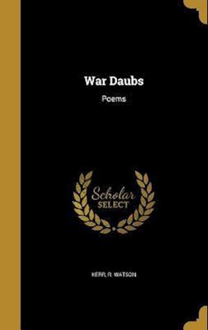 Bog, hardback War Daubs