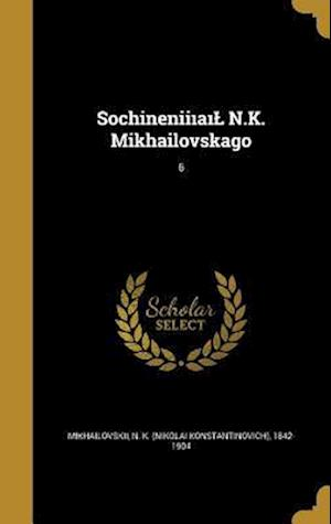 Bog, hardback Sochinenii A N.K. Mikhailovskago; 6