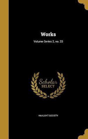 Bog, hardback Works; Volume Series 2, No. 33