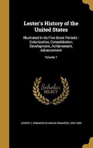 Bog, hardback Lester's History of the United States