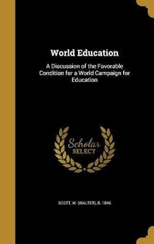 Bog, hardback World Education