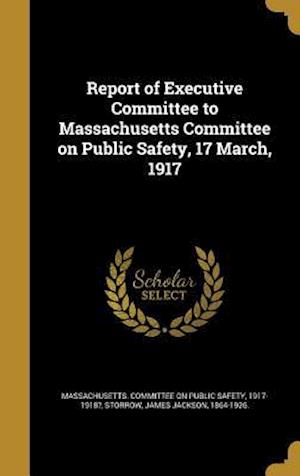 Bog, hardback Report of Executive Committee to Massachusetts Committee on Public Safety, 17 March, 1917