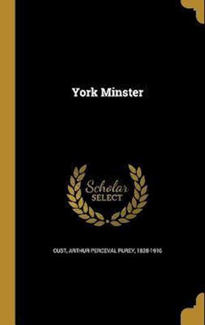 Bog, hardback York Minster