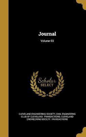 Bog, hardback Journal; Volume 03