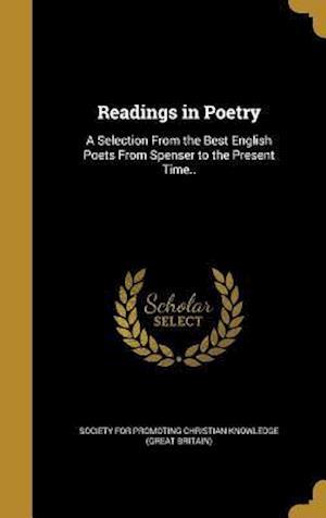 Bog, hardback Readings in Poetry