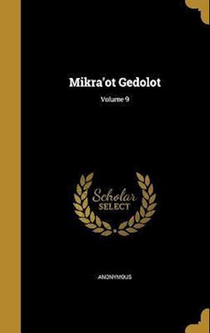 Bog, hardback Mikra'ot Gedolot; Volume 9