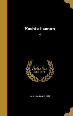 Bog, hardback Kashf Al-Zunun; 4