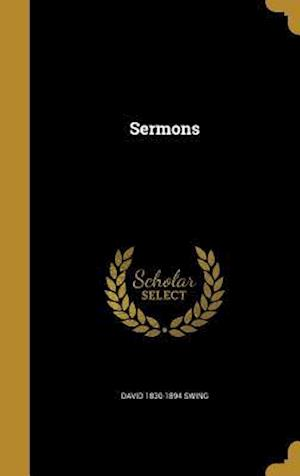 Sermons af David 1830-1894 Swing