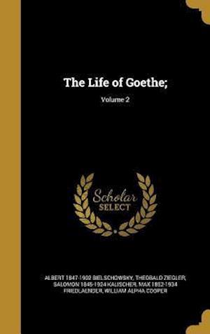 Bog, hardback The Life of Goethe;; Volume 2 af Theobald Ziegler, Salomon 1845-1924 Kalischer, Albert 1847-1902 Bielschowsky