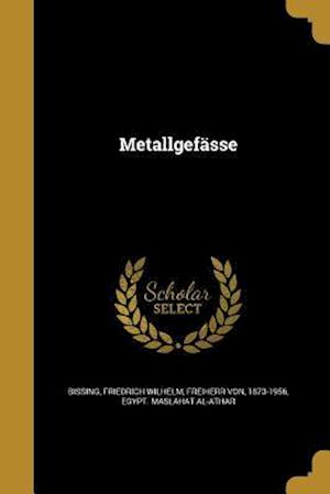 Bog, paperback Metallgefasse