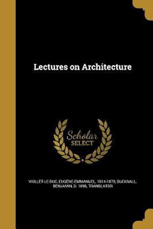 Bog, paperback Lectures on Architecture