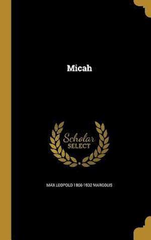 Bog, hardback Micah af Max Leopold 1866-1932 Margolis
