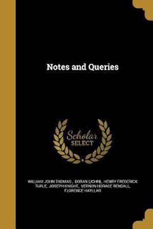 Bog, paperback Notes and Queries