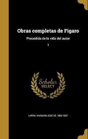 Bog, hardback Obras Completas de Figaro