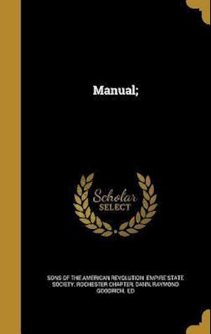 Bog, hardback Manual;