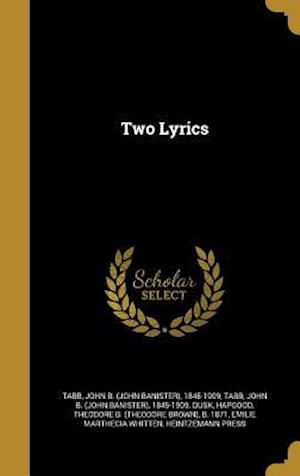 Bog, hardback Two Lyrics