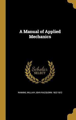 Bog, hardback A Manual of Applied Mechanics