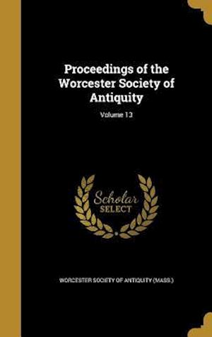 Bog, hardback Proceedings of the Worcester Society of Antiquity; Volume 13