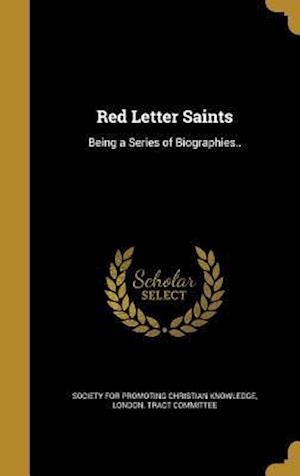 Bog, hardback Red Letter Saints
