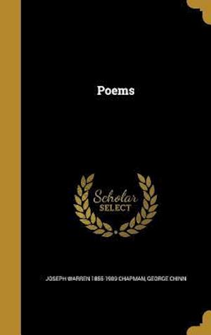 Bog, hardback Poems af Joseph Warren 1855-1909 Chapman, George Chinn