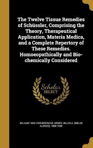 The Twelve Tissue Remedies of Schussler, Comprising the Theory, Therapeutical Application, Materia Medica, and a Complete Repertory of These Remedies. af William 1849-1929 Boericke