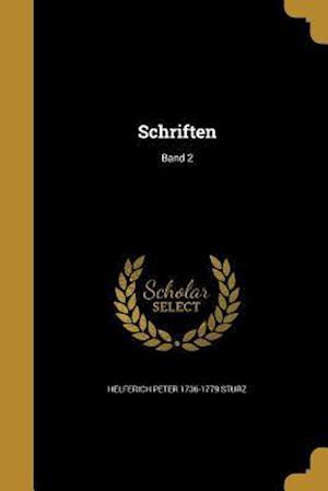 Bog, paperback Schriften; Band 2 af Helferich Peter 1736-1779 Sturz
