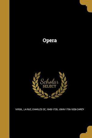 Bog, paperback Opera af John 1756-1826 Carey