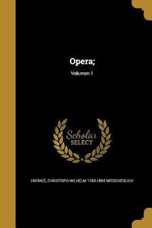 Bog, paperback Opera;; Volumen 1 af Christoph Wilhelm 1760-185 Mitscherlich