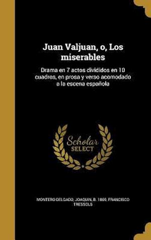 Bog, hardback Juan Valjuan, O, Los Miserables af Francisco Tressols