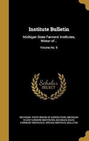 Bog, hardback Institute Bulletin