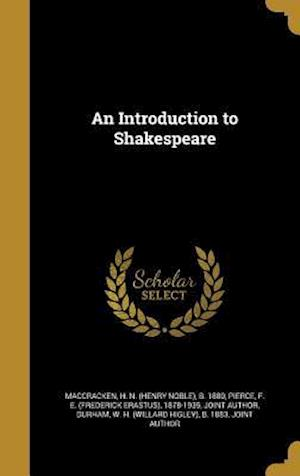 Bog, hardback An Introduction to Shakespeare