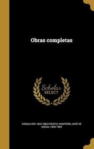 Bog, hardback Obras Completas af Goncalves 1846-1883 Crespo
