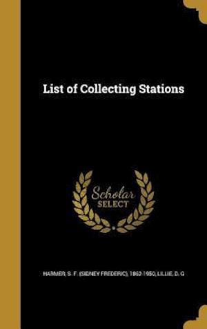 Bog, hardback List of Collecting Stations