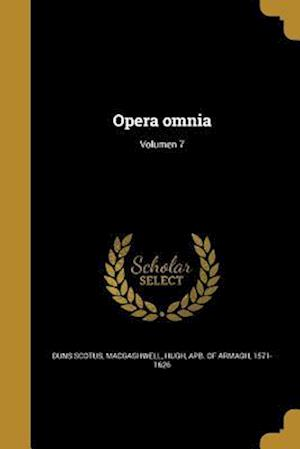 Bog, paperback Opera Omnia; Volumen 7