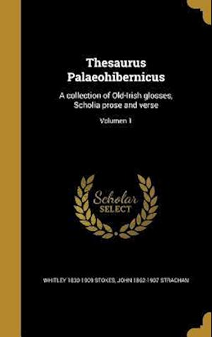 Thesaurus Palaeohibernicus af John 1862-1907 Strachan, Whitley 1830-1909 Stokes