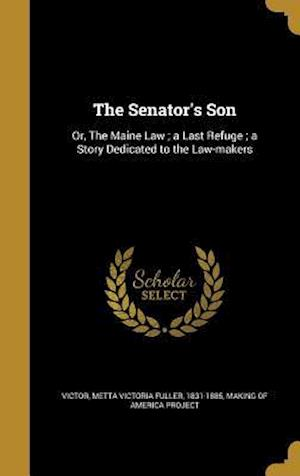 Bog, hardback The Senator's Son