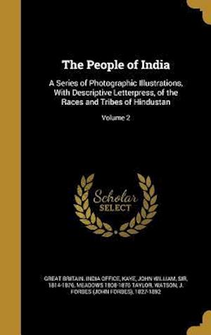 The People of India af Meadows 1808-1876 Taylor
