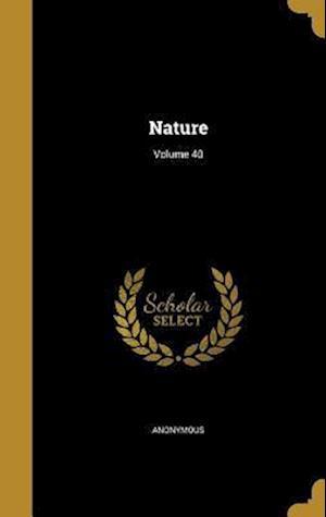 Bog, hardback Nature; Volume 40